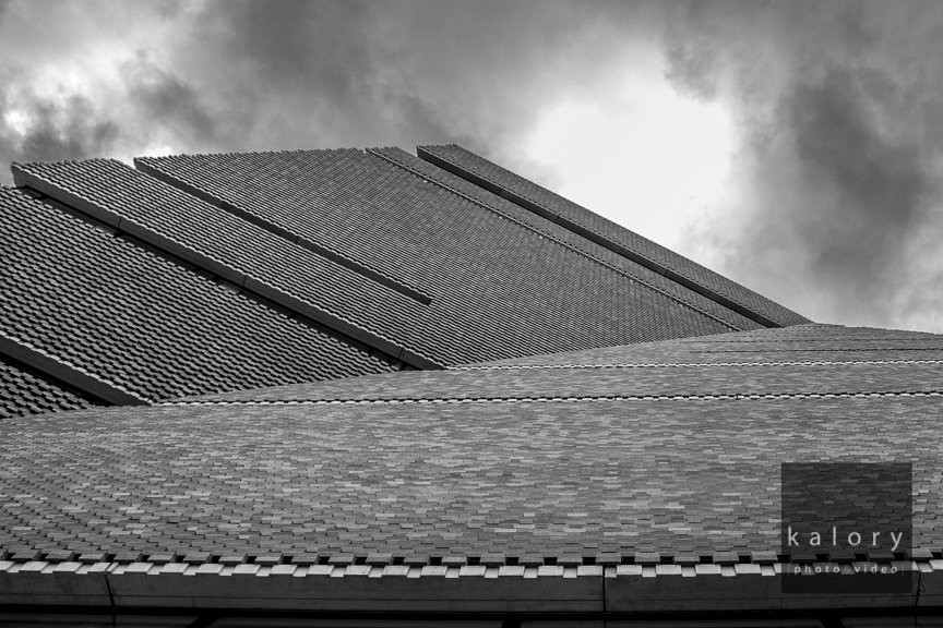 Architectural shots of the new tate modern extension