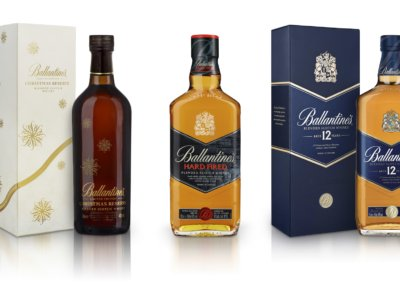 Packshot for Ballantines's whisky
