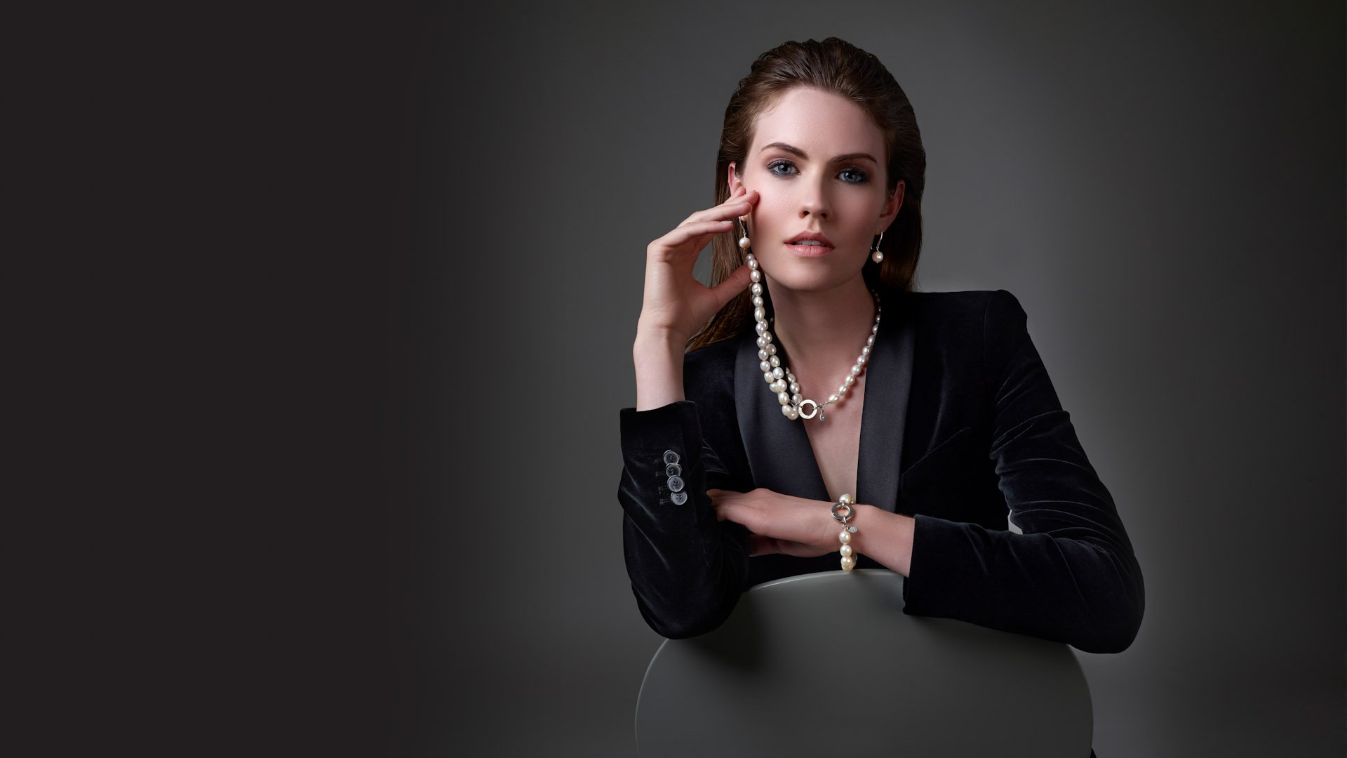 Jewellery models photography