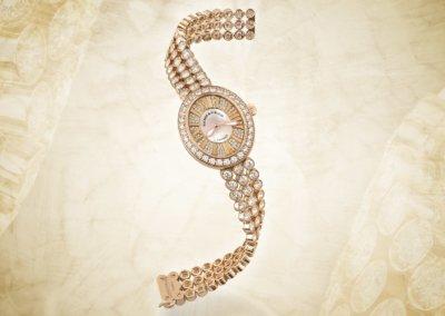 High-end diamond watch photographers