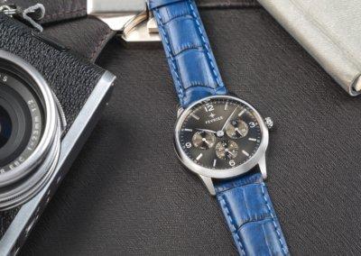 Studio photo shoot of a watch
