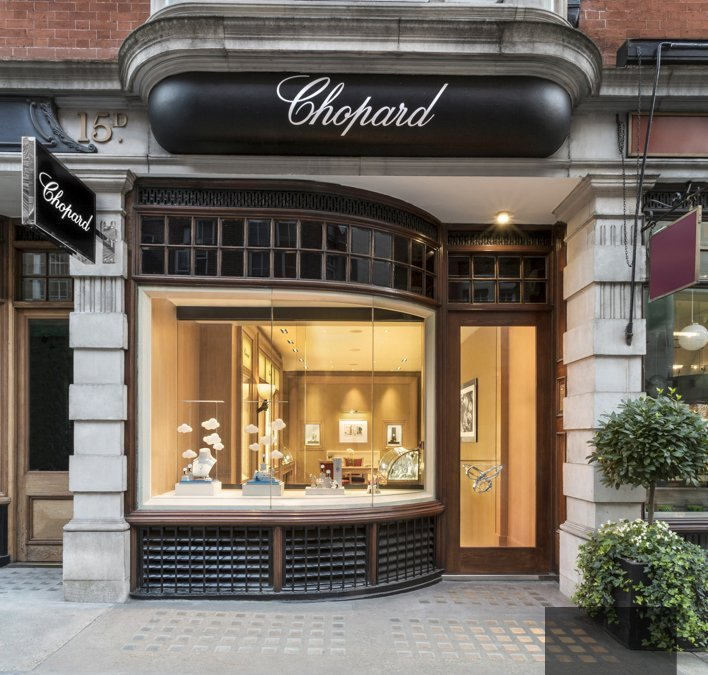 Mayfair interior photography : shooting the new Chopard boutique