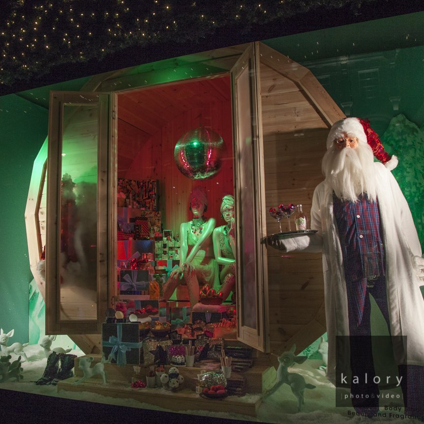 High end and luxury brands windows for 2016 christmas captured by the kalory photographers