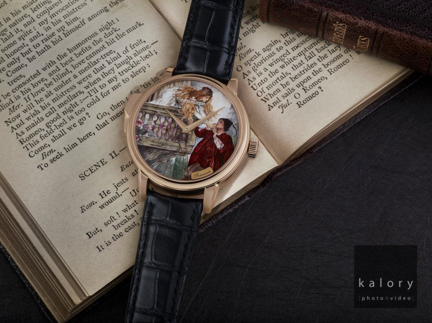 Romeo & Juliet Watch Advertising Concept Photography