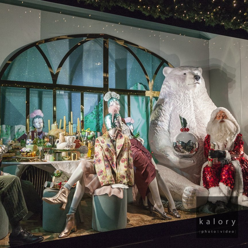 december 2016 London High street displays