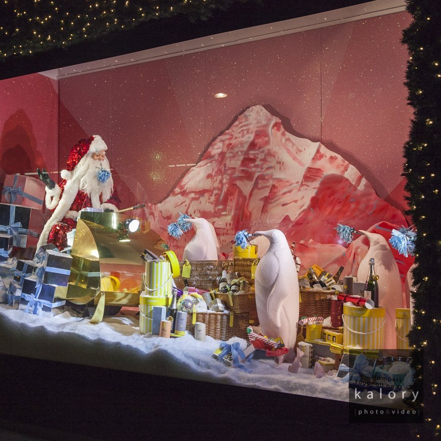 inspirational luxury brands window display
