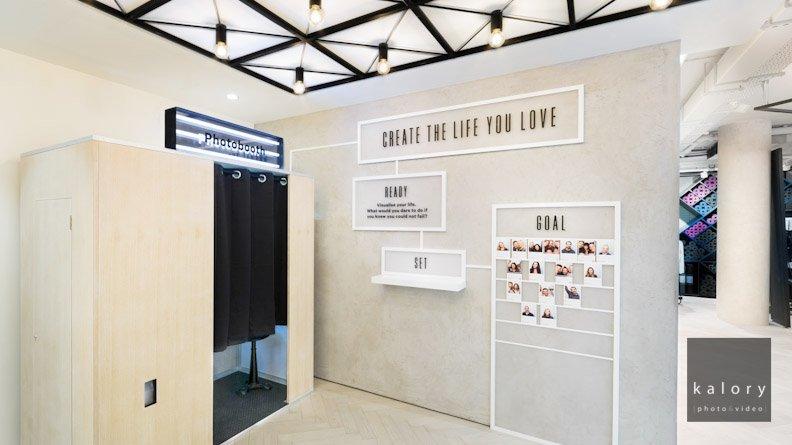 interior photographer of lulu lemon brand
