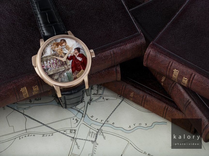 photography of a Romeo & Juliet concept for a luxury watch brand