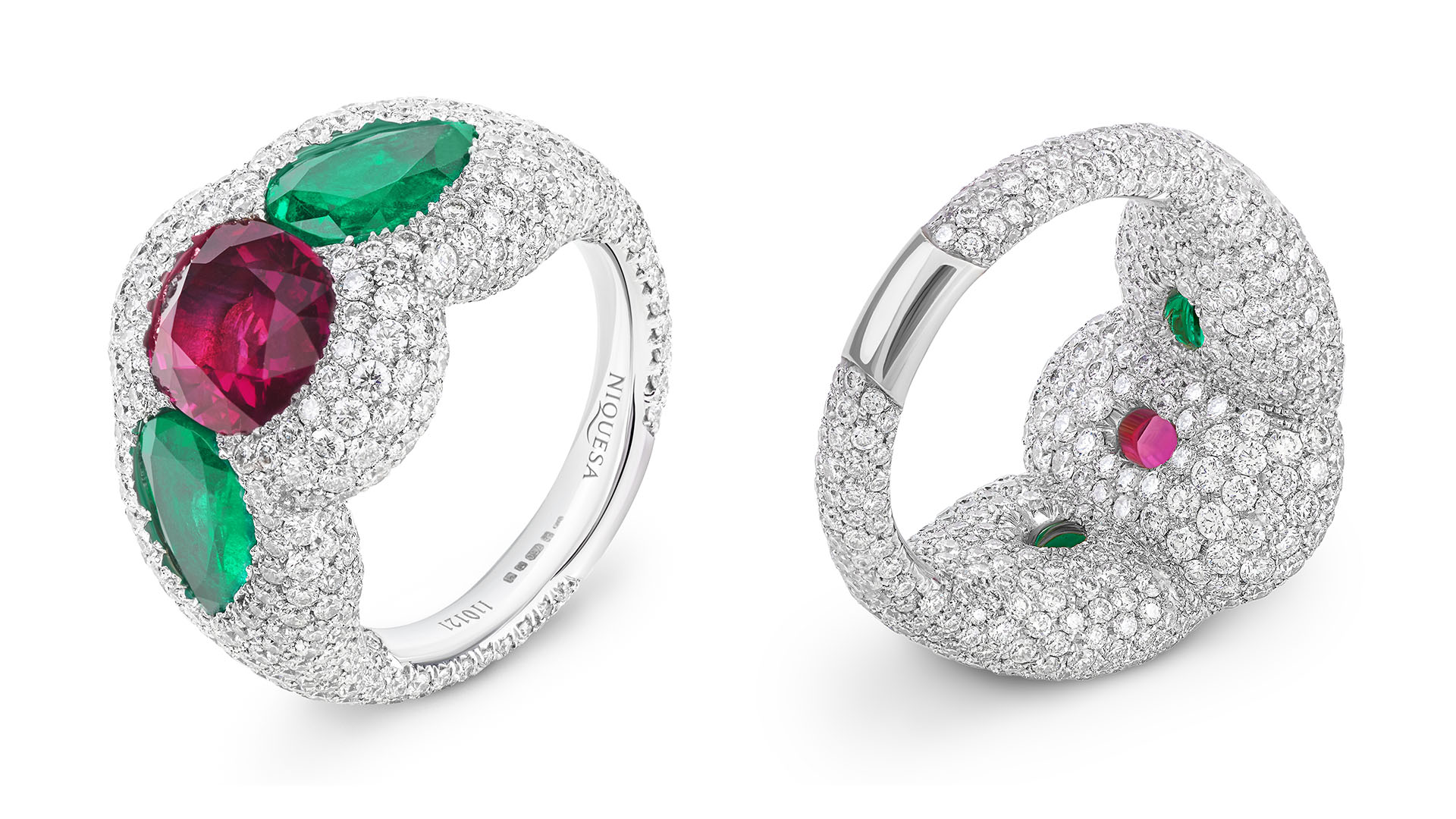 Fine jewellery photography services in the UK