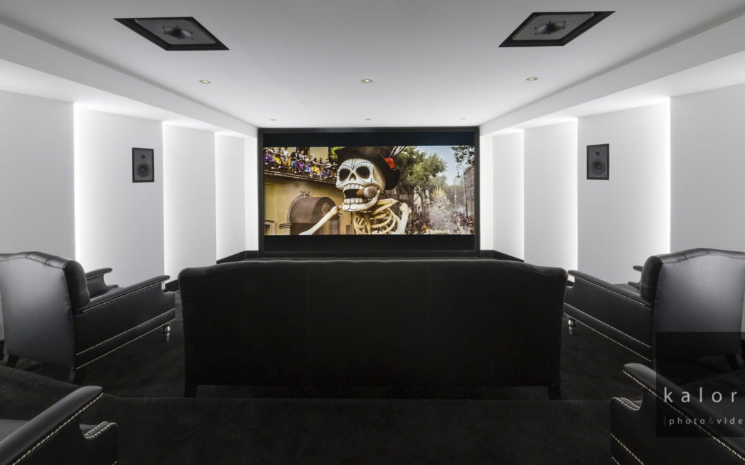 Residential Architecture And Interiors Photographs Of A Home Cinema