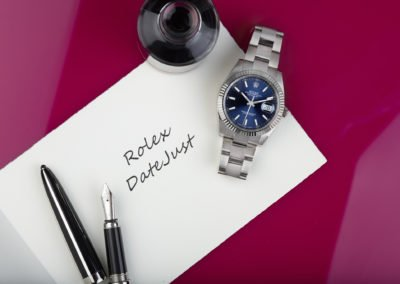 Editorial still life photography for Rolex UK