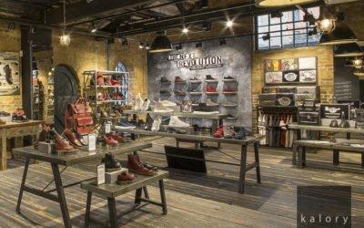 Dr Martens store photography in Camden