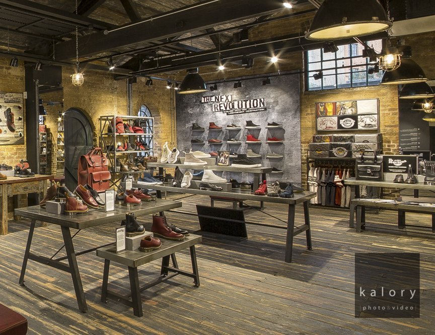 Dr Martens Store Photography In Camden Kalory Photo