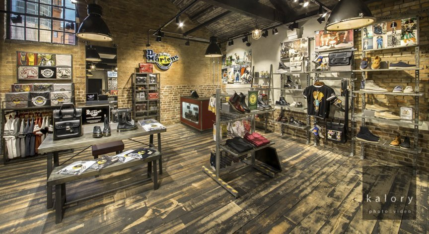 c83c5e7264 Dr Martens store photography in Camden | Kalory | Photo and Video ...