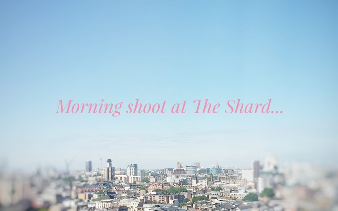 Shooting at The Shard, SE1