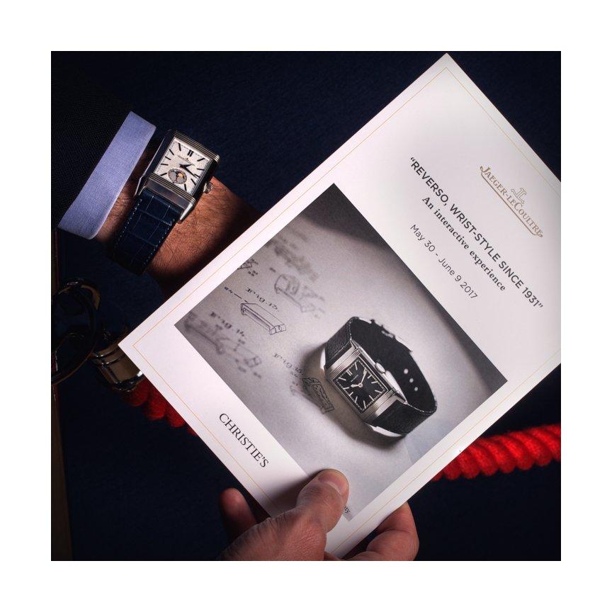 jaeger lecoultre watch shot