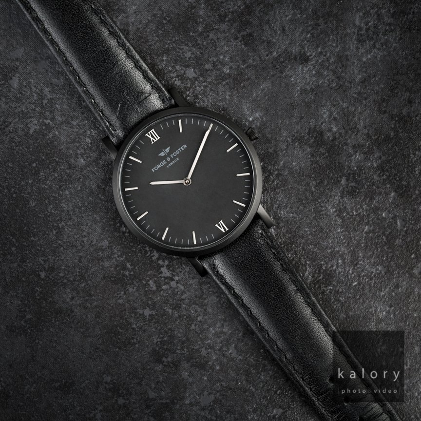 UK watch photography for forge and foster