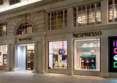 Nespresso store front picture