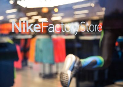 Nike Factory Store Photography