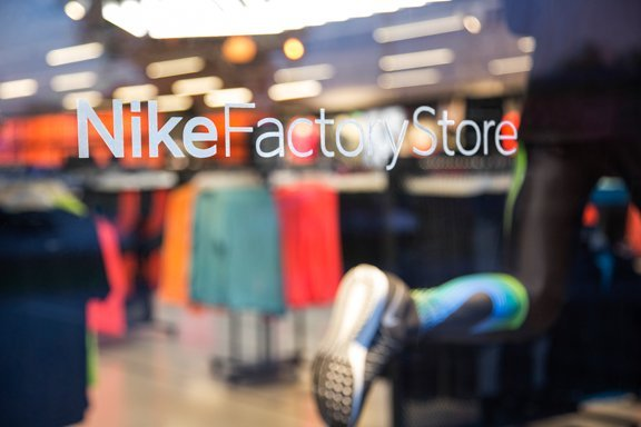 Interior & Visual Merchandising photography for Nike