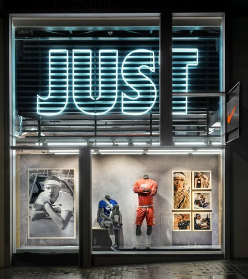 We Work With The Nike Visual Merchandising Team In Order To Get Stores As Close Possible Guidelines Paying Attention Every Detail