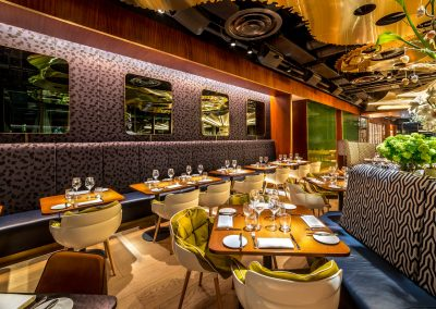 20 stories bar and restaurant in Manchester shot by Kalory photo and video