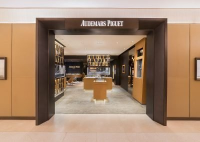 Audemars Piguet Interior boutique photography at Harrods