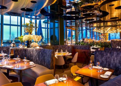architectural interior photographer for restaurants