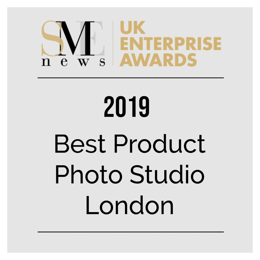 Best product photo studio london SME UK Business Awards 2019